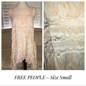 FREE PEOPLE Summer Boho Dress - Size Small